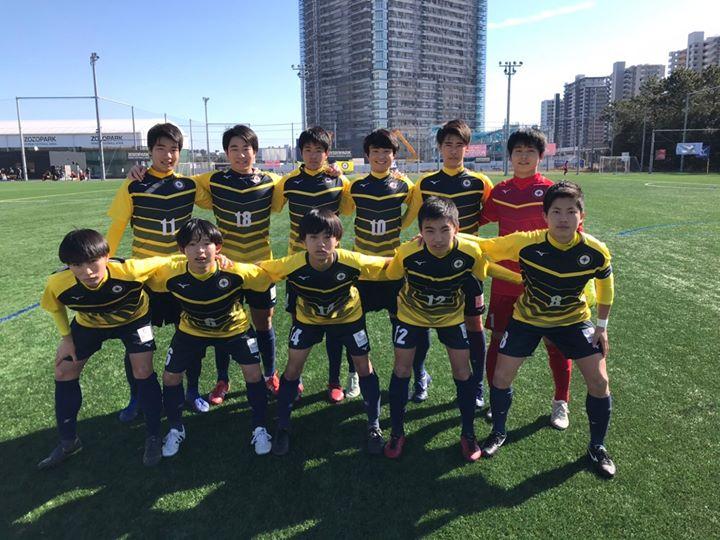 【SOLTILO FC U18】千葉県クラブユース新人戦