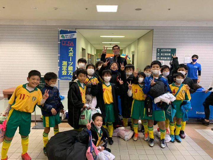【SOLTILO SEIRYO U11】第10回KANI CAP 少年サッカー大会 優勝