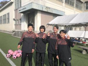 2020JFAナショナルトレセン女子U-14にPELの選手が4名選出されました!!