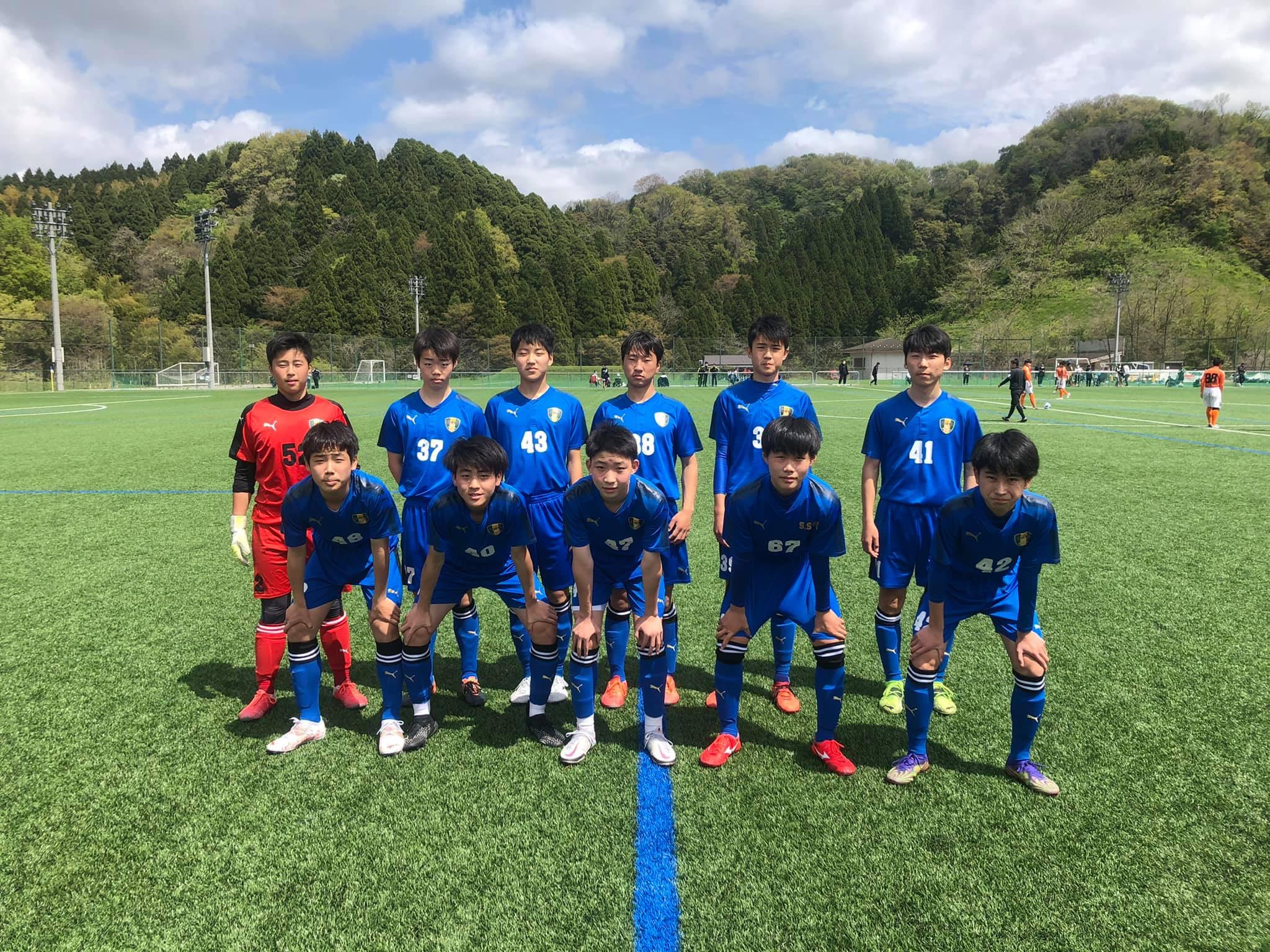 U-15サッカーリーグ2021 石川県リーグ開幕‼︎白星スタート