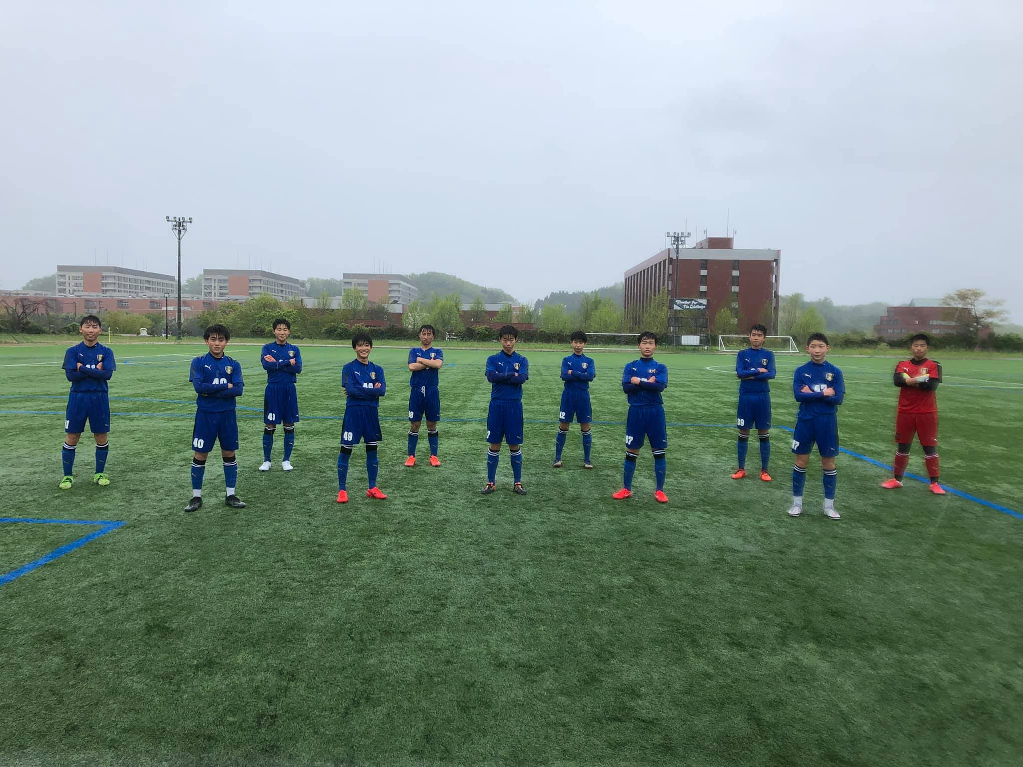 U-15サッカーリーグ2021 石川県リーグ第2節結果