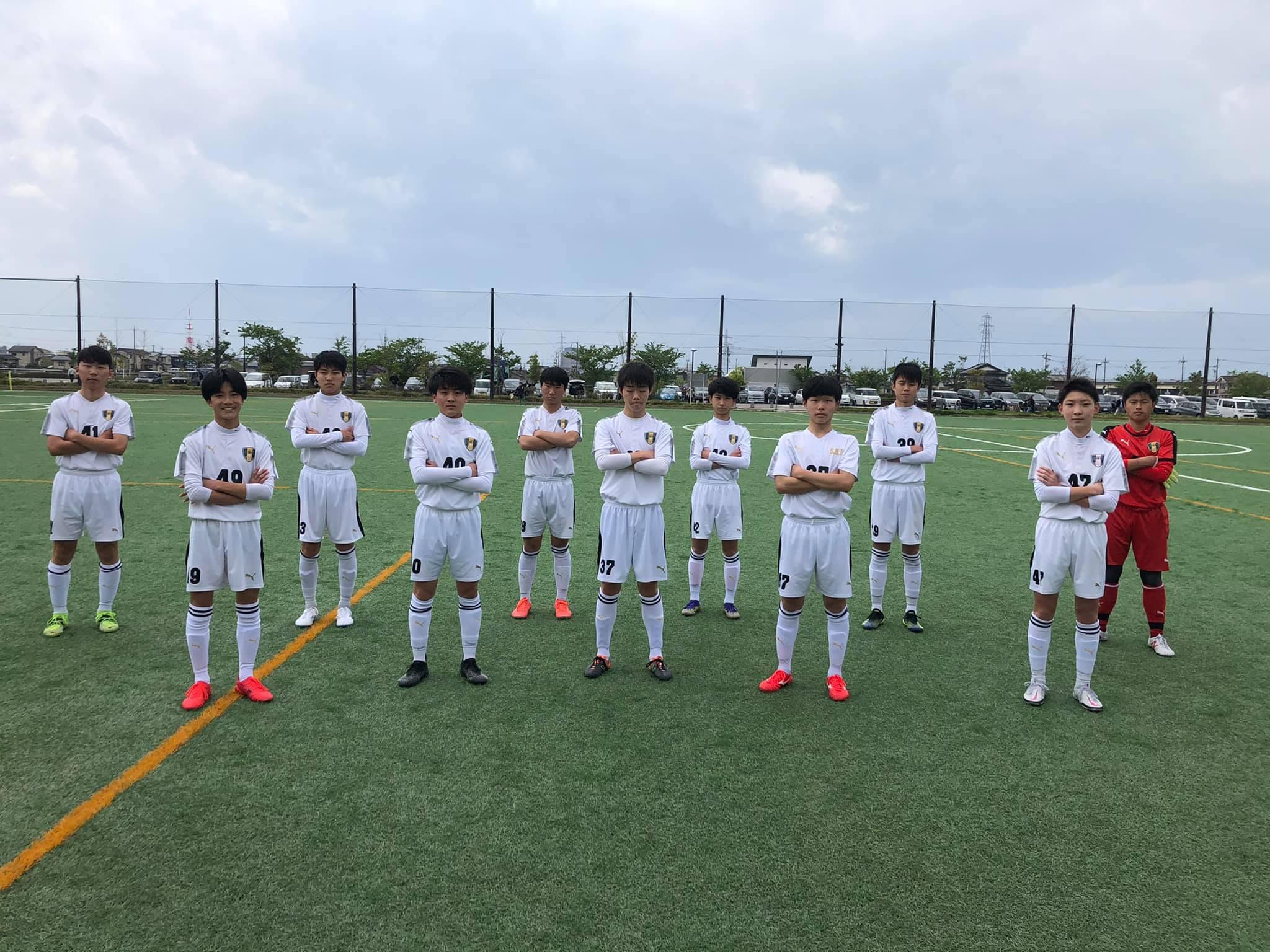 U-15サッカーリーグ2021 石川県リーグ第3節結果
