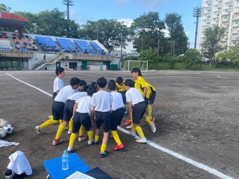 【U-12】活動報告 真夏の強化連戦実施!