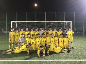【STFC U15】日本クラブユースサッカー選手権 U-15大会 東京都予選 代表決定戦